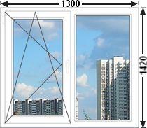 Цены на окна 1300