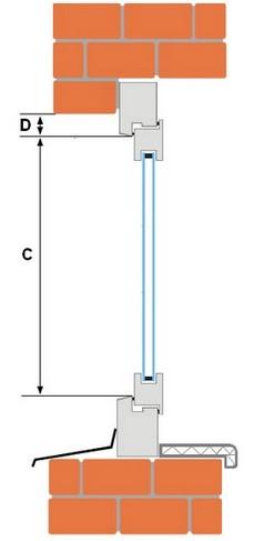 Инструкция замера светового проёма вертикаль