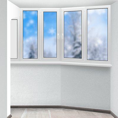 Тёплое остекление балкона