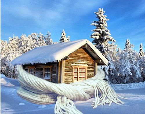 Зима окно ПВХ