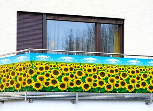 вариант для внешней отделки балконов