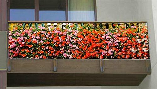 Делают балкон уникальным