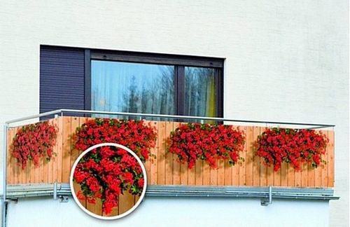уникальным балкон