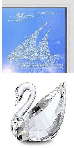 Декор окон кристаллами Swarovski